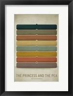 Framed Princess Pea