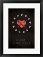 Framed Count of Monte Cristo