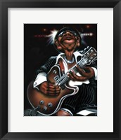 Framed Jazzman Cool