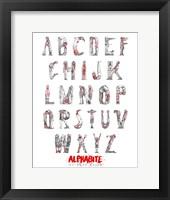 Framed Alphabite