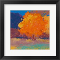 Framed Orange Maple