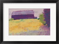 Framed Wheat Field