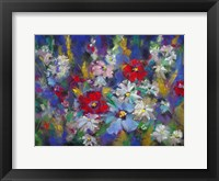 Framed Red, White and Bloom