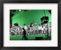 Framed Green Screen