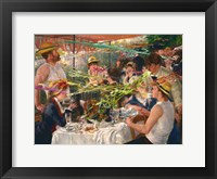 Framed Luncheon of the Projectile Vomit Party