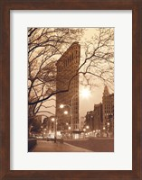 Framed Flatiron, NYC
