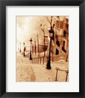 Framed Montmartre, Paris