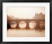 Framed Pont Neuf, Paris