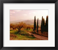 Framed Toscana, Italia No. 709