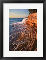 Framed Pictured Rocks Michigan I