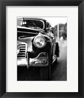 Framed Classic Car II Crop