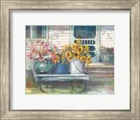 Framed Garden Wagon Bright