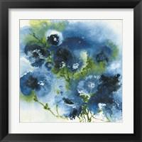 Framed Blue Explosion