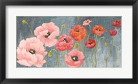 Framed Poppy Party