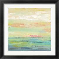 Framed Pink Clouds II