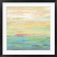 Framed Pink Clouds I