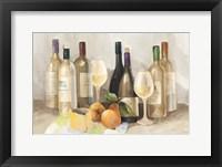 Framed Wine and Fruit II v2 Light
