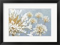 Framed Golden Spring Blue Gray