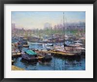 Framed Chicago Harbor