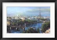 Framed Paris Pedestrian Bridge