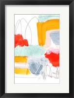 Framed Abstract Painting XVI