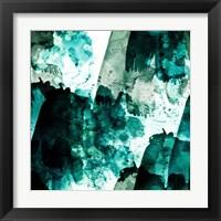 Framed Emerald and Moss Green