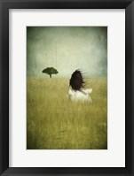 Framed Girl on the Field