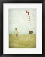 Framed Kite Runner