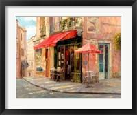 Framed Hillside Cafe