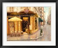 Framed Red House Cafe