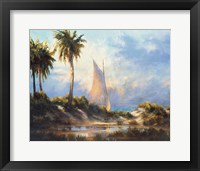 Framed Manasota Key Returning