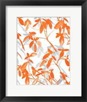 Framed Premonition Orange