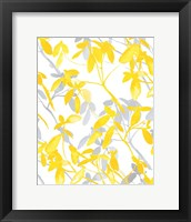 Framed Premonition Yellow