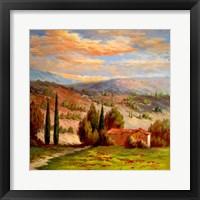 Framed Rural Bliss