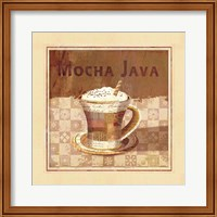 Framed Mocha Java