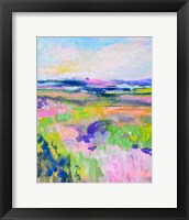 Framed Colourful Land I