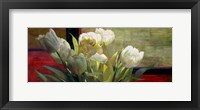 Framed Tulips with Red
