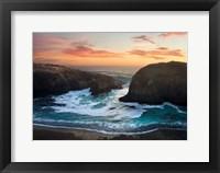 Framed Coastal Glow