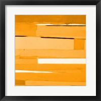 Framed Gold Monochromatic