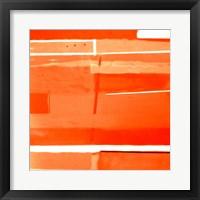 Framed Red Monochromatic