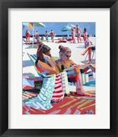 Framed Beach Gossip