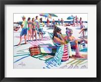 Framed Beach Party
