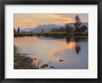 Framed Tranquil Evening