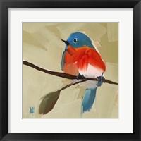 Framed Bluebird No. 21