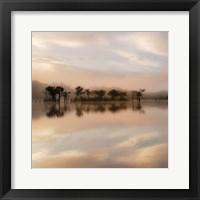 Framed Dawn Mist on the Amazon