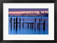 Framed Bay Pilings - Sausalito