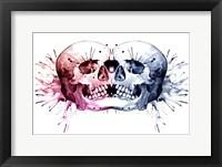 Framed Conjoined Skull