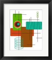 Framed Modop in Green