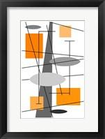 Framed Rauth in Orange