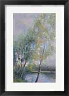 Framed Poetry on Riverbank